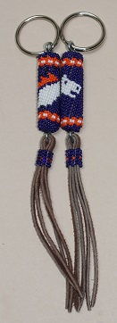 Key Chain - Broncos, Smalll