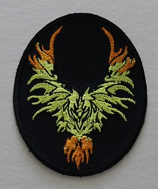 Patch - Flaming Eagle