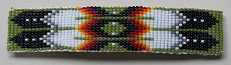 Large Beaded Barrette