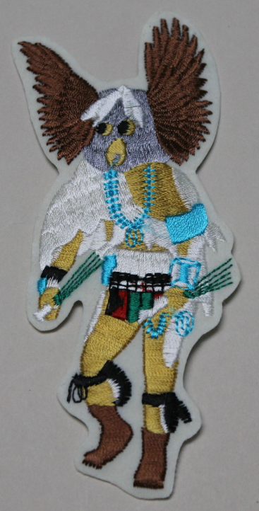 Patch - Horned Owl Kachina