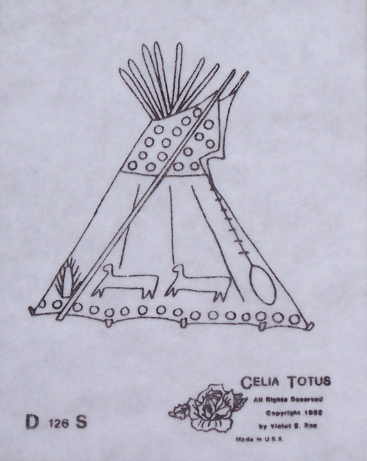 Pattern - Tipi W/Patterns