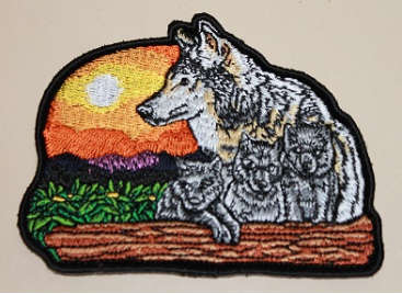 Patch - Wolf and Cubs