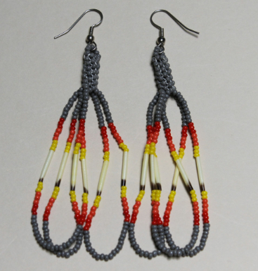 Quill and Peyote Earrings