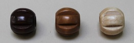 Groved Wood Beads