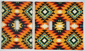 Wall Plate - Native Design Multi Color