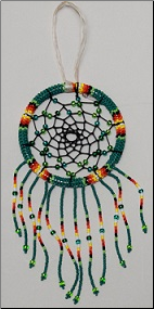 Beaded Dreamcatchers