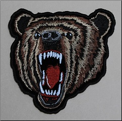 Patch - Bear Small