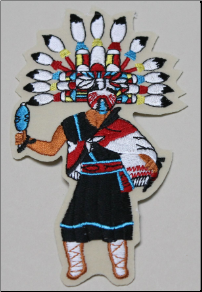 Patch - Butterfly Kachina