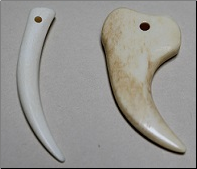 Carved Bone Claw
