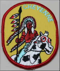 Patch - Cheyenne