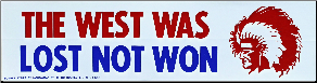 Chief Bumper Stickers