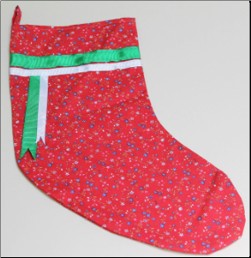 Christmas Stocking Kit -  Calico