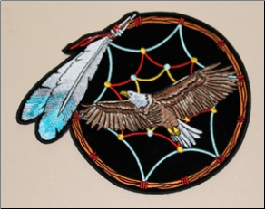 Patch - Dreamcatcher with Feather/Eagle