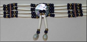 Hairpipe Choker Kit - Real Bone