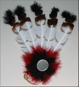 Headdress Kit - Imitation Eagle Feather
