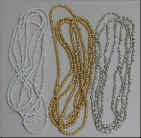 Oat and Pearl Beads