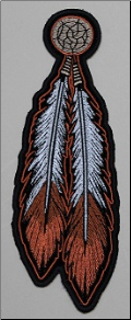 Patch - Feathers (Brown)