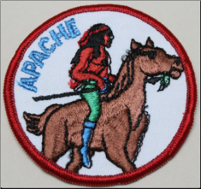 Patch - Apache on Horse