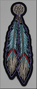 Patch - Feathers (Tribal)