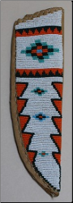 Sheath - Large Beaded