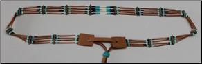 Porcupine Quill Hatband