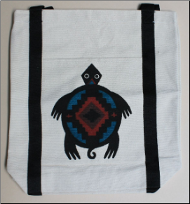 Canvas Totes-Turtle