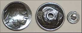 Coin Concho - Heads