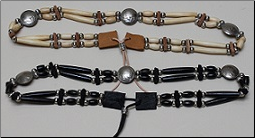 Hat Band - Hairpipe and Buffalo/Indian Head Nickle Buttons
