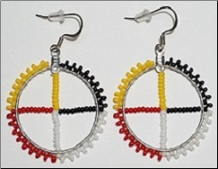 Medicine Wheel Earrings