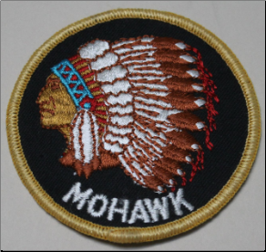 Patch - Mohawk Chief