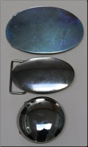 Oval & Round Belt Buckle Blanks