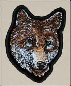 Patch - Wolf Head